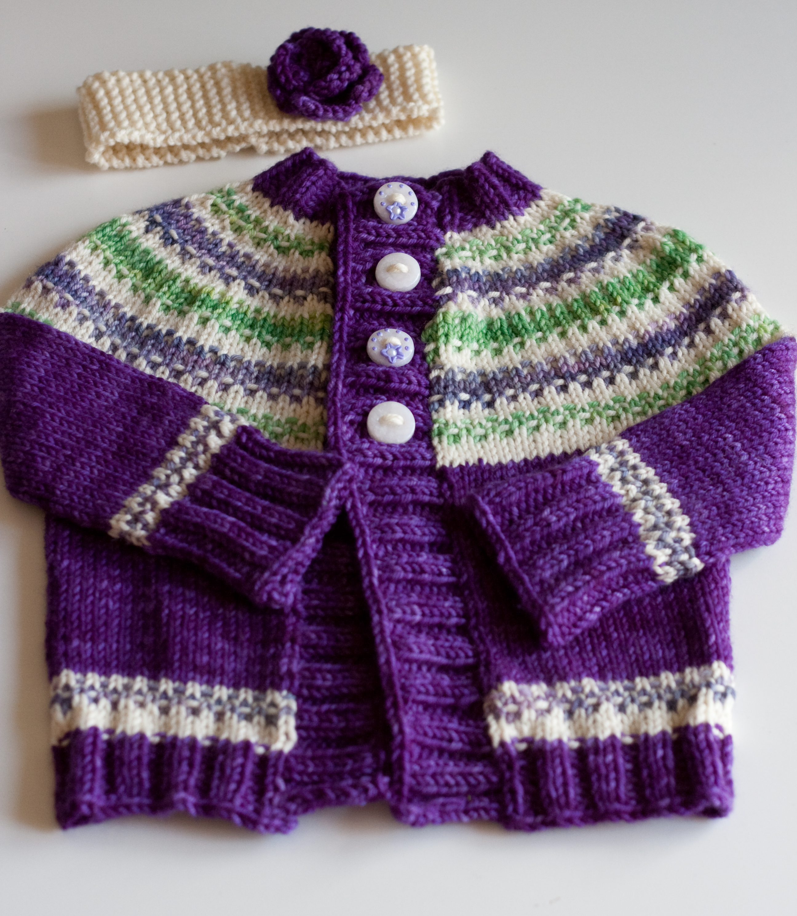 100  [ Baby Sweaters ] | Easy Jaali Design Baby Sweater Frock ...